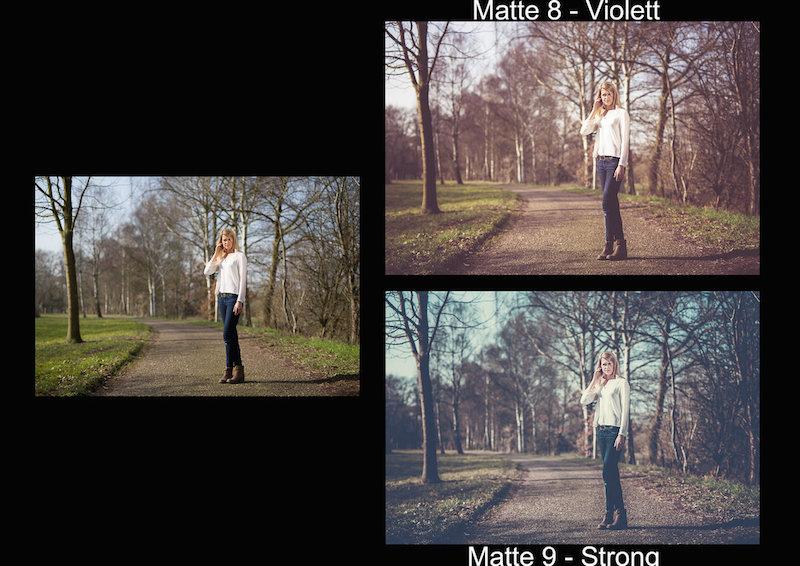 Vorschau Lightroom Presets Matte Looks
