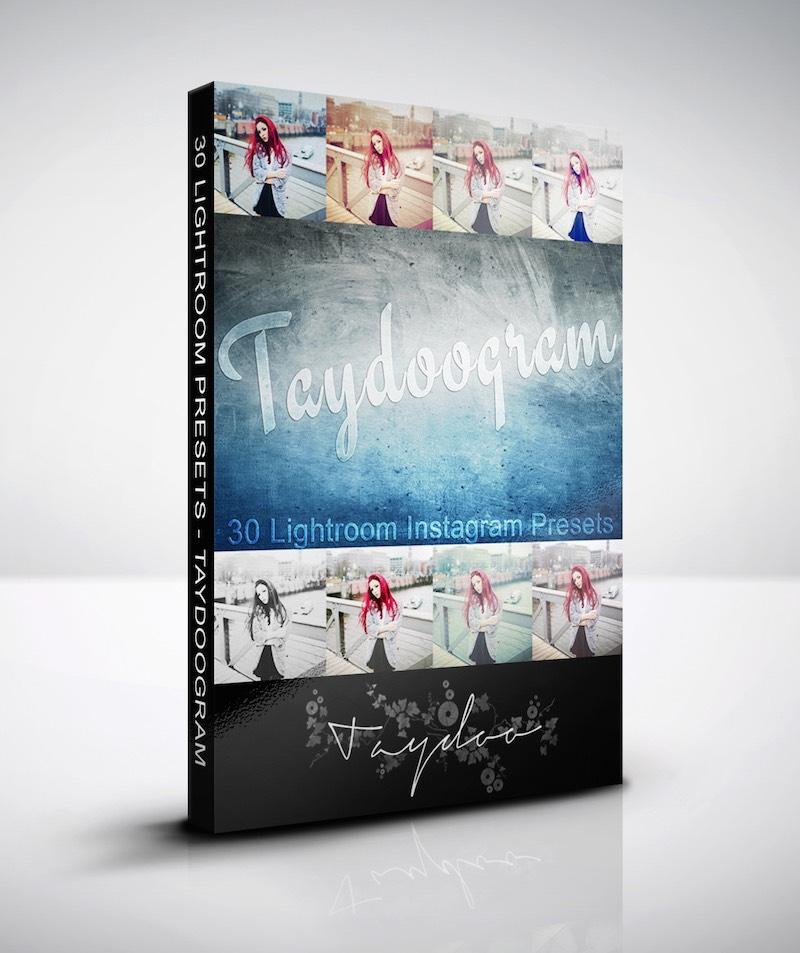 Produktbox Taydoogram Lightroom Presets