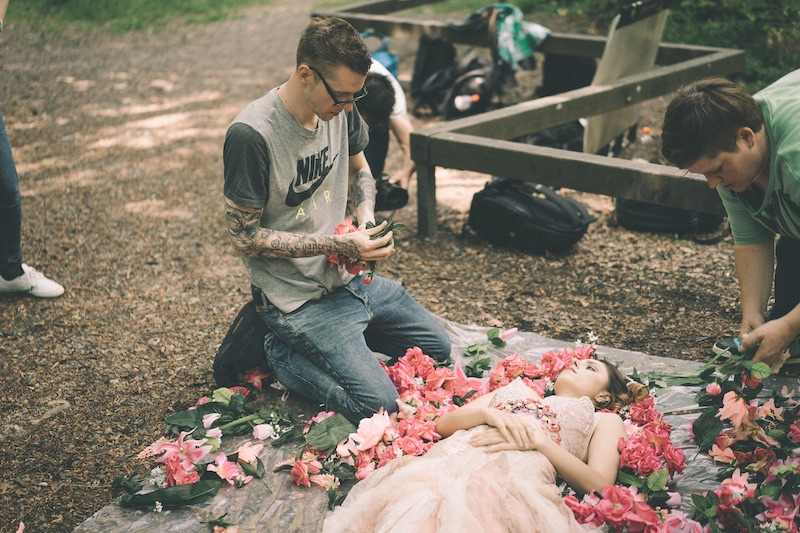 Taydoo präpariert das Blumen Set