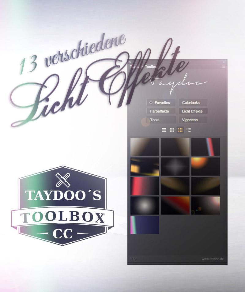 Lichteffekte Taydoo,s Toolbox