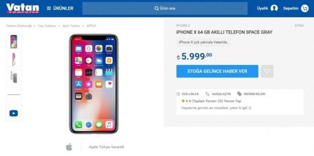 iPhone X 'in maliyeti ne kadar olabilir