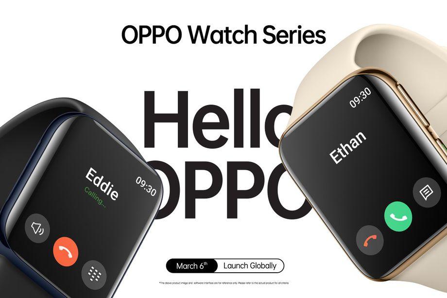 Apple watch benzeri Oppo Watch