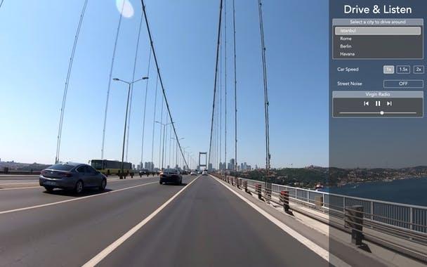 drive & listen - tayfunca technology