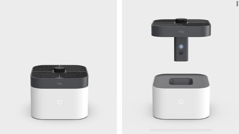 Amazon Ring Güvenlik için Drone