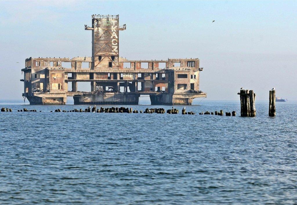 Sloborn dizindeki Su içindeki bina