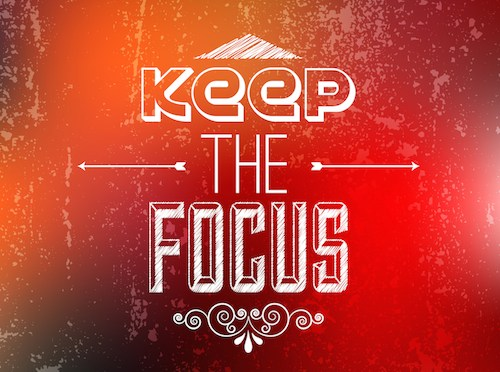 A Productivity Challenge: FOCUS