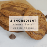 5 Ingredient Almond Butter Cookie Recipe - This simple and easy recipe is sure to satisfy even the most dedicated health nuts! #celiac #celiacawareness #celiacdisease #celiacrecipe #glutenfreerecipe #almondbutter #peanutfree #glutenfree #glutenfreecookie #5ingredient #easyrecipe #recipe #5ingredientcookie #almondcookie #almondbuttercookie #glutenfreealmond