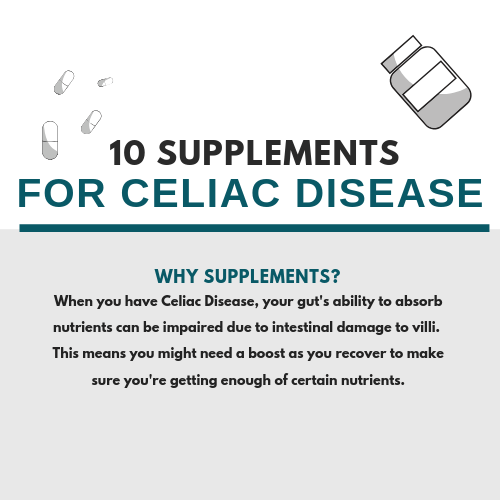 10 Supplements People With Celiac Disease Should Consider