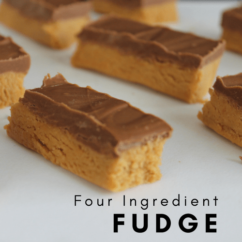 4 Ingredient Fudge