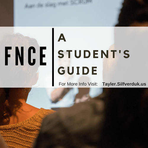 A Student's Guide to FNCE