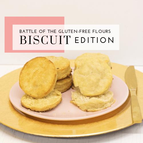 Battle of the Gluten-Free Flours – Nameste vs. Pamela's All-Purpose Flour – Biscuit Edition