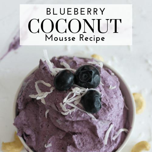 Blueberry Coconut Mousse Recipe