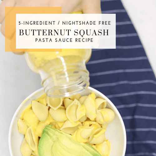 5-Ingredient Butternut Squash Pasta Sauce Recipe