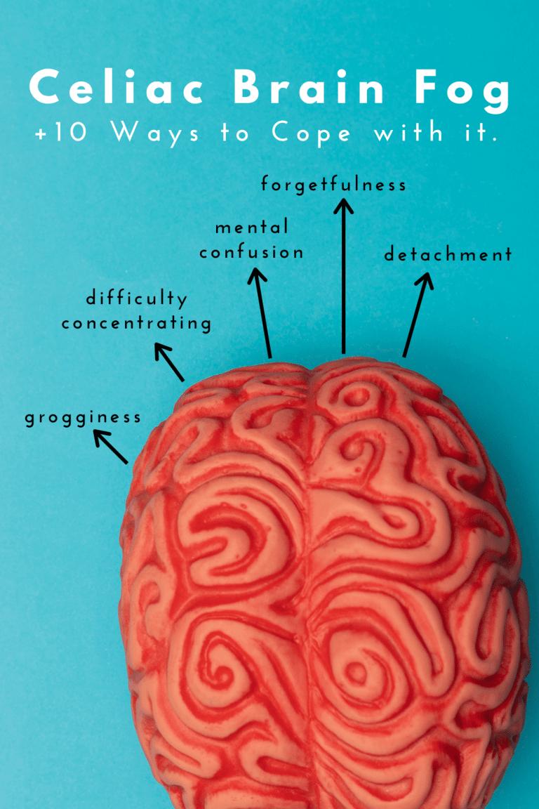 Celiac Brain Fog + 10 Ways to Cope - Tayler Silfverduk, celiac dietitian - what celiac brain fog feels like, symptoms of celiac brain fog, symptoms of gluten braing fog, signs of celiac brain fog, celiac brain fog research, what to do about brain fog