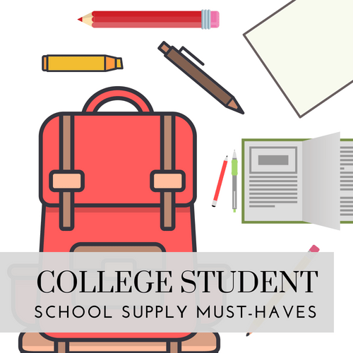 College Student School Supply Must-Haves