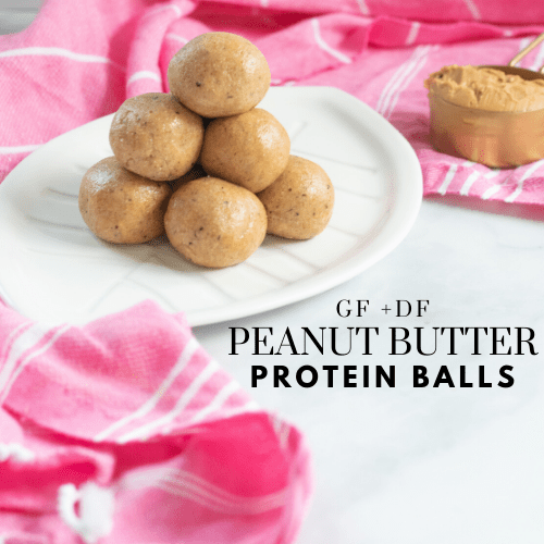 Peanut Butter Protein Balls (gluten-free, grain-free, and dairy-free)