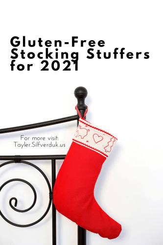 Gluten-Free Stocking Stuffers for 2021 - Tayler Silfverduk, celiac dietitian - gluten-free candy to put in stockings, gluten-free treats for stockings, non-food stocking stuffers