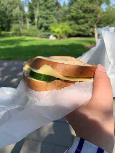 Gluten-free Sandwich in Iceland