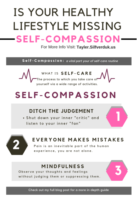 Is your Healthy Lifestyle Missing Self-Compassion_ - Tayler Silfverduk DTR - #selfcare #compassion #healthylifestyle #nutritiontips #diettips #dietlife #slimmingamerica #weightlosstips #selflove #selfcompassion #healthylife #glutenfreelife #celiaclife #dietetics #nutritioneducation