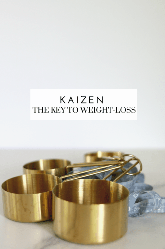 Kaizen is the Key to Weight-loss - Tayler Silfverduk DTR - Kaizen #kaizen #japanese #howtoloseweight #weightlossdiet #dietculture #loseweight #keepitoff #sustainablechange #smallsteps #babysteps #newyears #newyear #keytoweightloss this is the true key to weight-loss