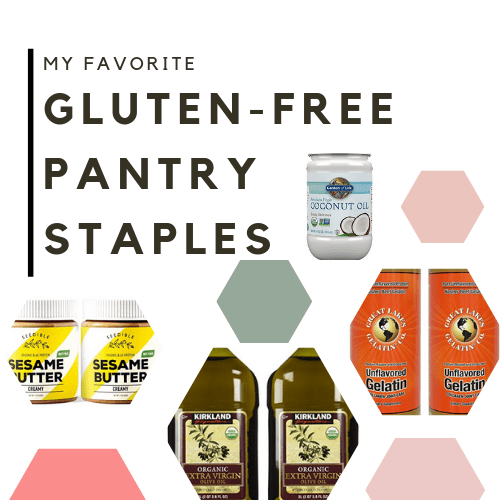 My Favorite Gluten-Free Pantry Staples