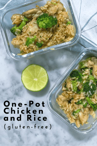 One-Pot Chicken and Rice (gluten-free and dairy-free) - Tayler Silfverduk, celiac dietitian