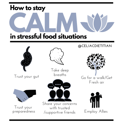 How to Stay Calm in Stressful  Food Situations