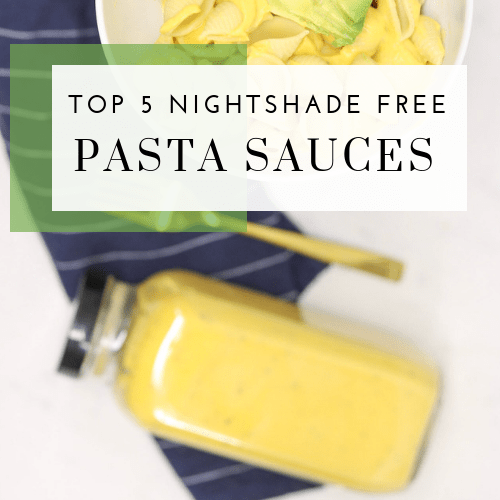 Top 5 Nightshade Free Pasta Sauces