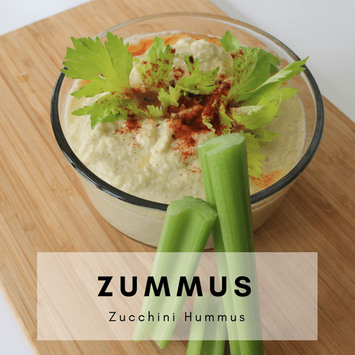 Easy Zucchini Hummus Recipe