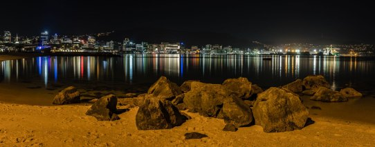 Wellington night photography
