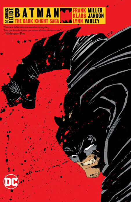 DC Comics Deluxe Batman: The Dark Knight Saga
