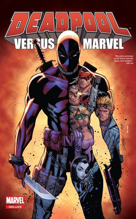 Marvel Deluxe: Deadpool versus Marvel