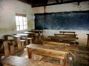One of the classrooms I taught in at Mukono High.