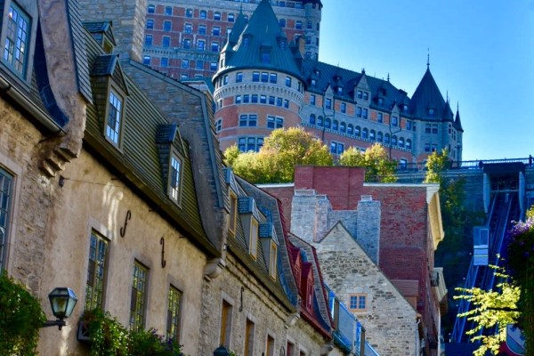 Quebec City, Canada, Bicycle, Old Town, Montmorency Falls