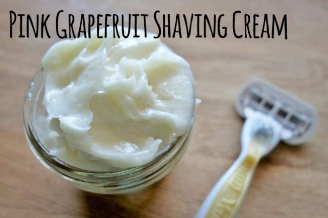 Pink Grapefruit Shaving Cream