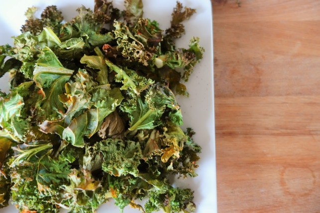 The Perfect Crispy Kale Chip
