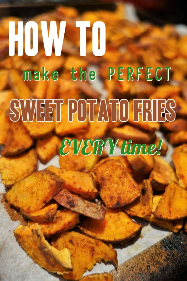 The Tricks on how to make PERFECT Sweet Potato Fries, every time!!
