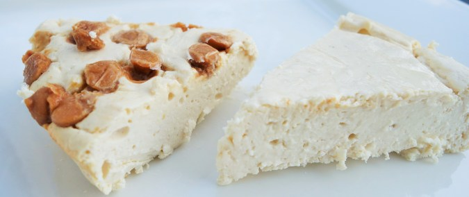The trick to making PERFECT Protein Cheesecake