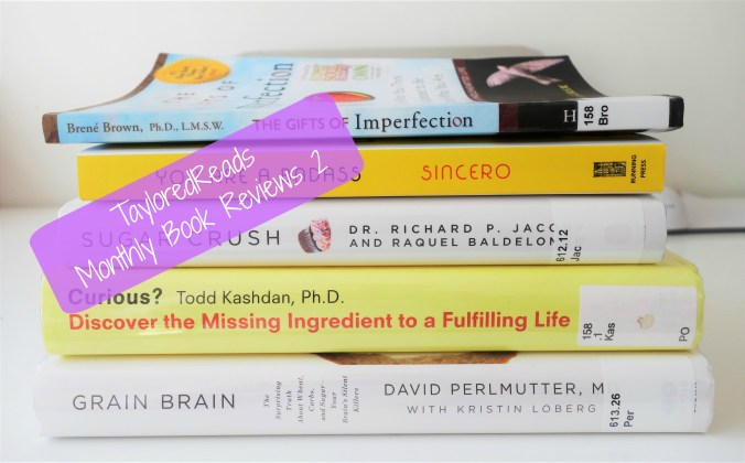TayloredReads Monthly Book Review: Nutrition & Personal Growth
