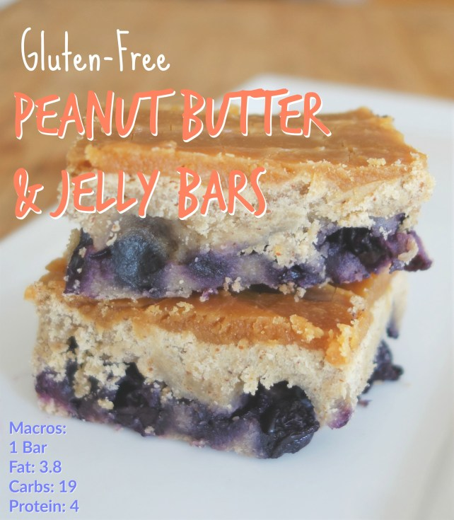 Peanut Butter and Jelly Bar