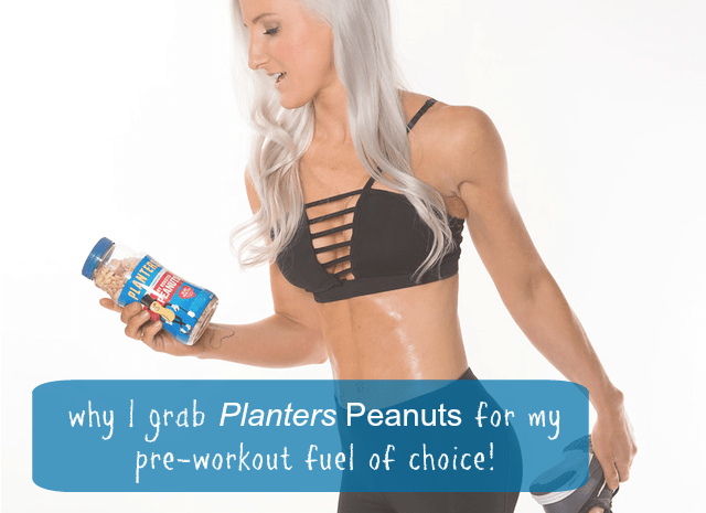 Pre and Post Workout with Planters Peanuts