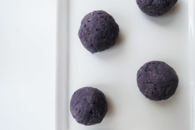 Protein Blueberry Bites