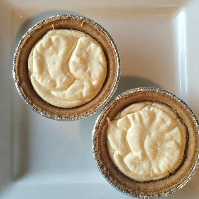Mini Protein-Cheesecakes