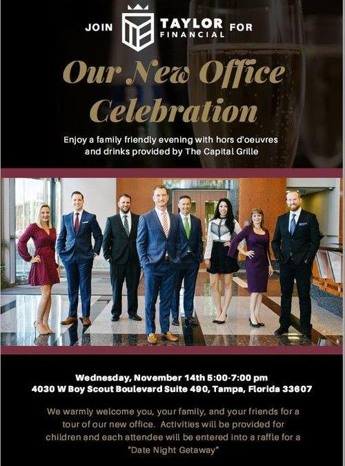 Taylor Financial Open House Celebration