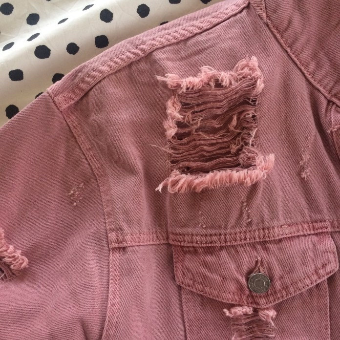 Missguided Ripped Shacket