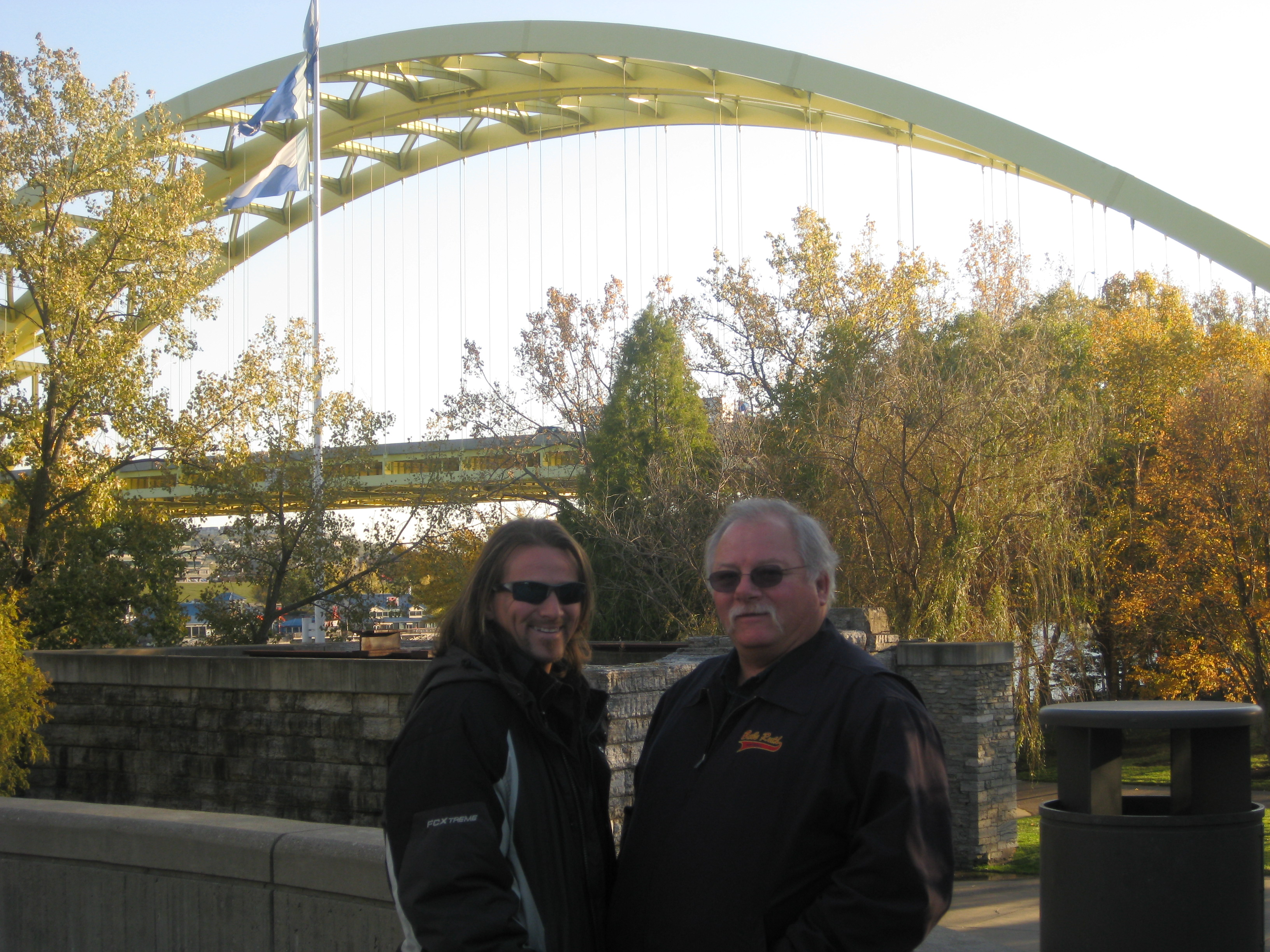 My Father David Hargrove and I