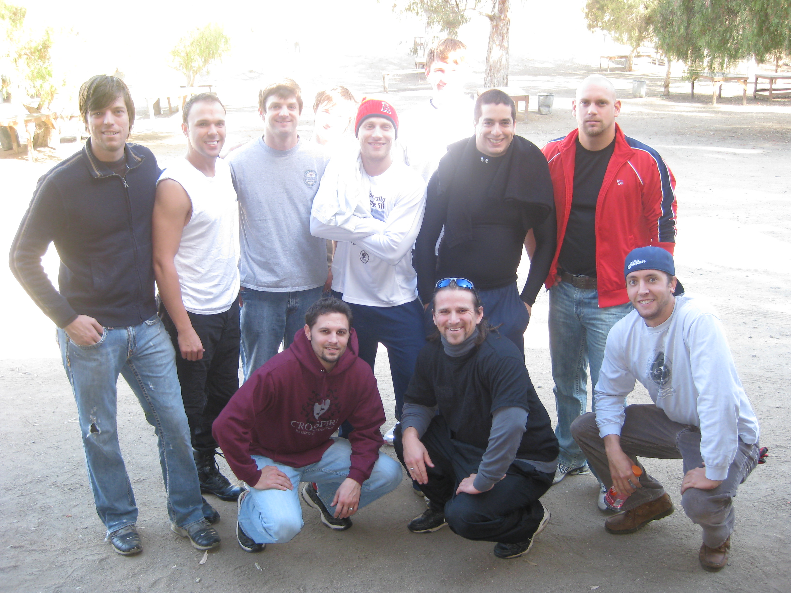 A great time meeting Quinn's friendship and Paintball last Friday at the Marine Base in San Diego.  This is a smart bachelor's party!