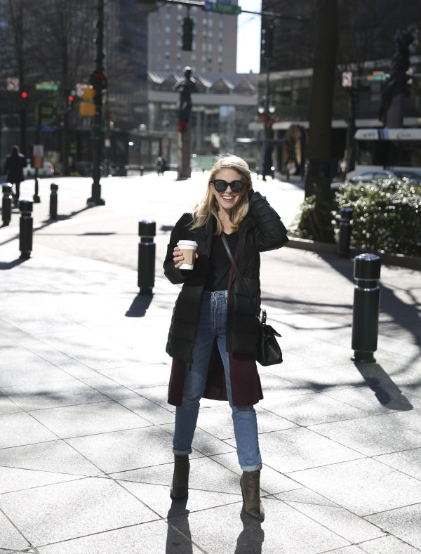 January, January 2018, Winter Looks, Winter Layers, Andrew Marc, TJ Maxx, Marshall's, Old Navy, Nordstrom, Levi's LOFT, Target, Style Blogger, Style Influencer, Fashion Blogger, Charlotte Blogger, 704, tayloringstyle