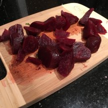 Steamed beets from Trader Joe's