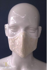 Ivory_lace_Floral_Two_piece_Contoured_Mask_w_Headties_C